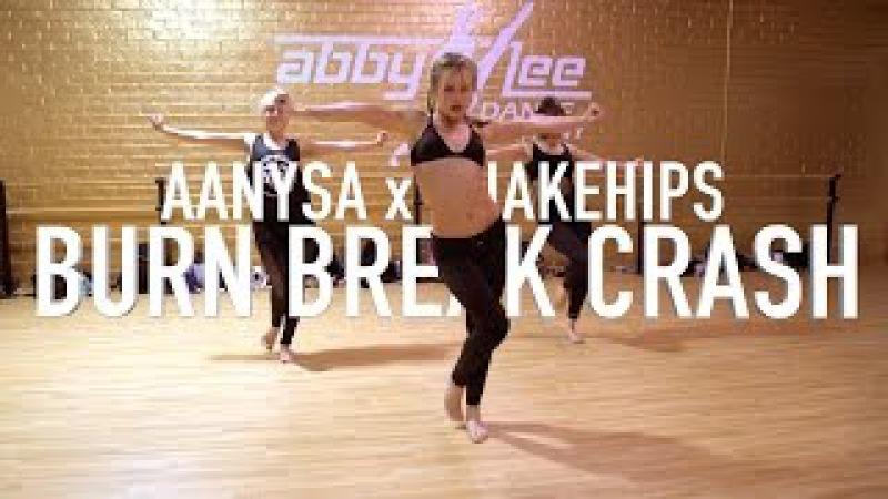 Aanysa x Snakehips - Burn Break Crash   Brian Friedman Choreography   ALDC LA