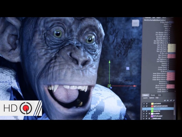 War for the Planet of the Apes (2017) VFX Breakdown | Motion Capture CGI