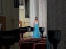 Юлия Щёкина - высокое меццо-сопрано - Азучены (Верди -Трубадур), Одарка