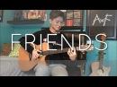 Friends - Marshmello Anne-Marie - Cover (Fingerstyle guitar)