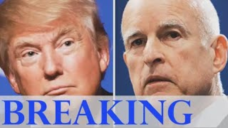 After Trump Finished Off California Sanctuary Laws, Gov. Brown Has EPIC Breakdown On Live TV