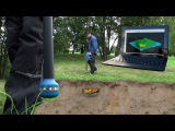 Metal detector and 3D ground scanner Rover C4 from OKM EN