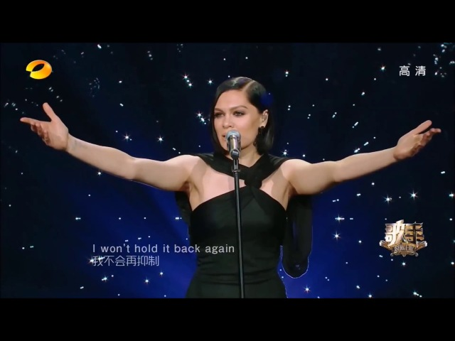 (1080p Full HD) Jessie J 【I Have Nothing】Full Cover China Singer Competition 2018