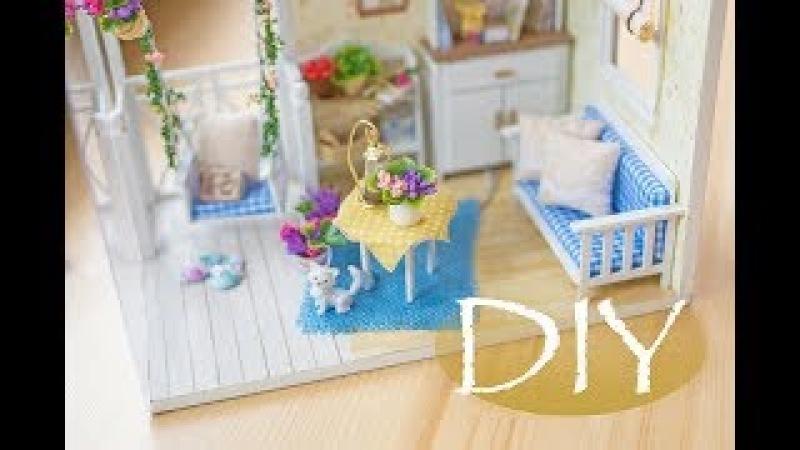 Миниатюрный кукольный домик 1 Miniature Doll House DIY Tsvoric