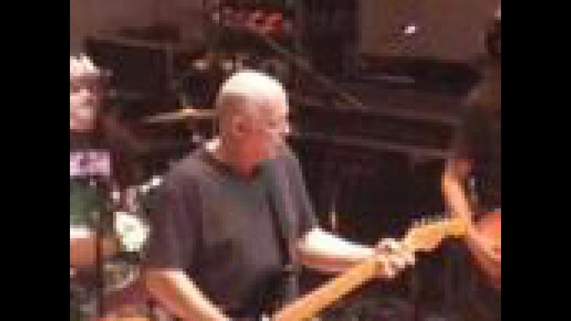 David Gilmour plays Atom Heart Mother 2008 at Cadogan Hall Geesin