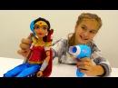ЧудоЖенщина в САЛОНЕ красоты 💄 Собираем куклу на Свидание с Бэтменом 💓 Видео ...