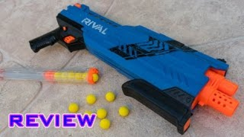 [REVIEW] Nerf Rival Atlas XVI-1200 Unboxing, Review, Firing Test