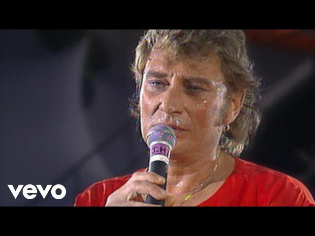 Johnny Hallyday - Je serai là (Live au Parc des princes, Paris 1993)