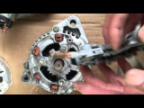 HOW TO REPAIR REBUILD ALTERNATOR HONDA PRELUDE CIVIC DELSO ACCORD ACURA TL CL VIGOR Isuzu 1990-1998