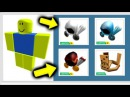 THIS NOOB HAS EVERY ITEM EVER Roblox