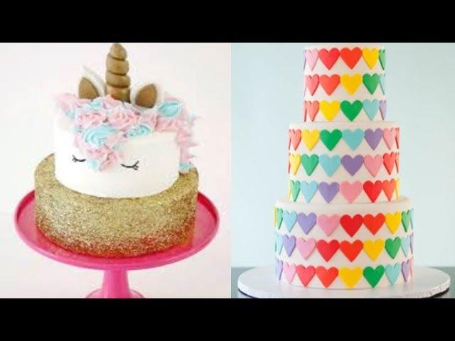 Top 10 Amazing Birthday Cake Decorating Ideas - Cake Style 2018 - Easy Birthday Cake Decorating