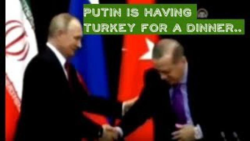 HILARIOUS: Spy Camera Shows What Putin Really Did To Erdogan