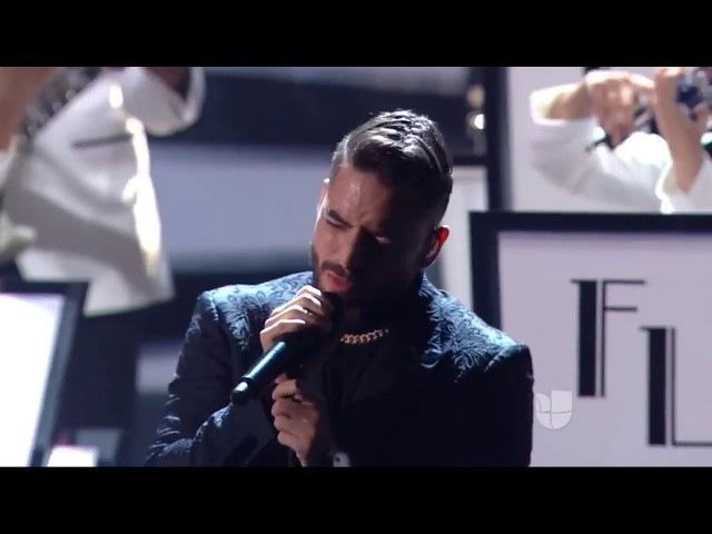 Felices Los 4 Latin Grammy 2017 Maluma HD