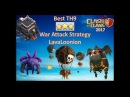 Clash of Clans: How to destroy th9 max by Lavaloon deck attack, you must watch.