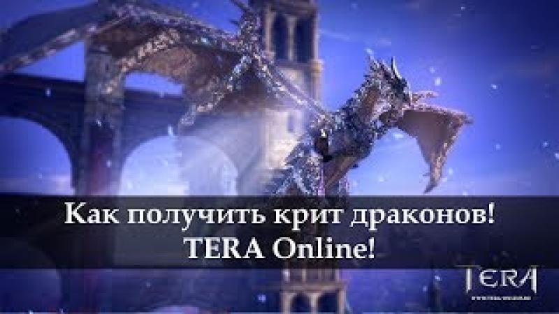 Как получить критовых драконов. TERA Online