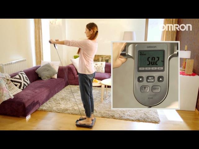 Монитор состава тела OMRON BF 508 - весы, жироанализатор и индекс массы тела