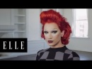 Miss Fames Incredible Drag Transformation About Face ELLE