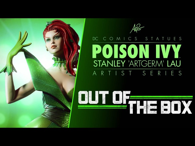 Out of the Box: Poison Ivy Statue - Stanley 'Artgerm' Lau Artist Series