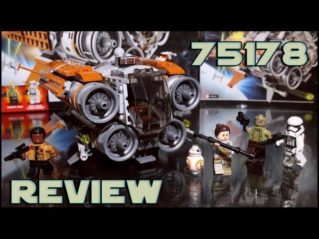 Lego Star Wars 75178 Jakku Quadjumper Review | Обзор Лего Звёздные Войны Квадроджампер с Джакку