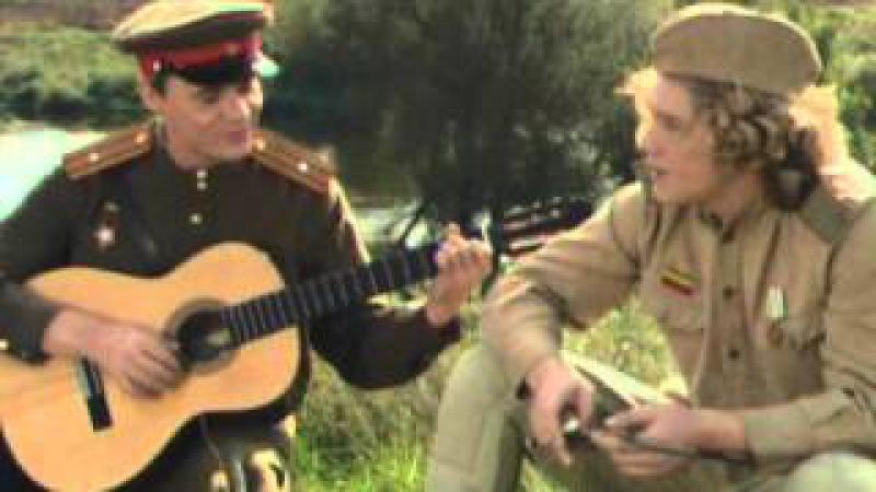 Димитрий Христов в клипе Гены Богданова Такая, брат, война