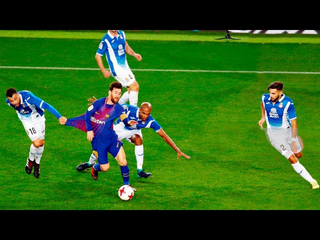 Lionel Messi ● King of Dribbling ● 2017-2018 ● HD