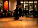 Alex Krebs and Jenna Rohrbacher - Tango performance at PSUs Spring 2009 Benefit Milonga