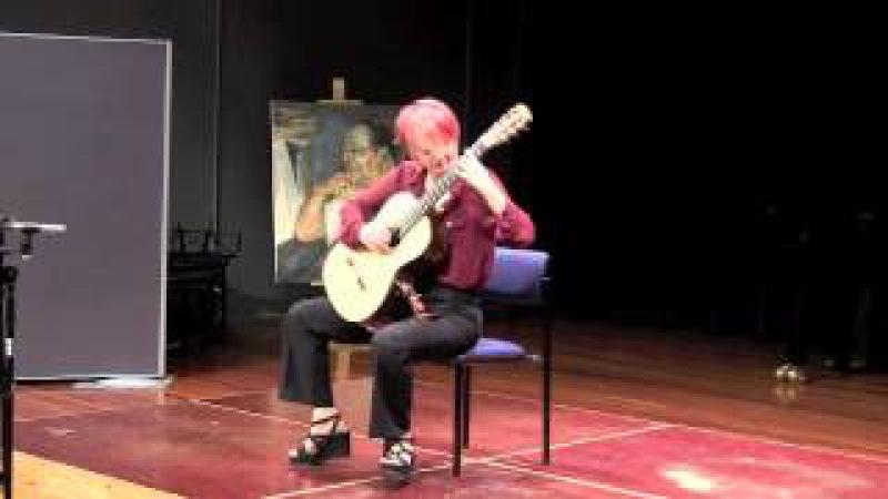 Felicidade by Jobim, arr Dyens (live), performed by Stephanie Jones