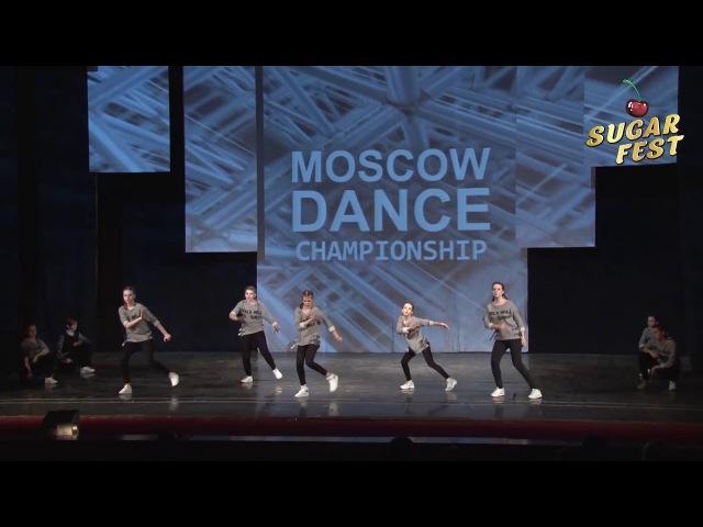 ACTIVE STYLE FANTASTIC JUNIORS 🍒 HIP-HOP CREW JUNIORS BEGINNERS 🍒 SUGAR FEST. Dance Championship