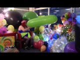 B2pBLOWasBIGasPOSSIBLE BigGreenBallonPOP