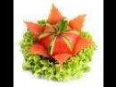 014. Darmowy kurs carvingu kwiat z pomidora / Free carving course tomato flower