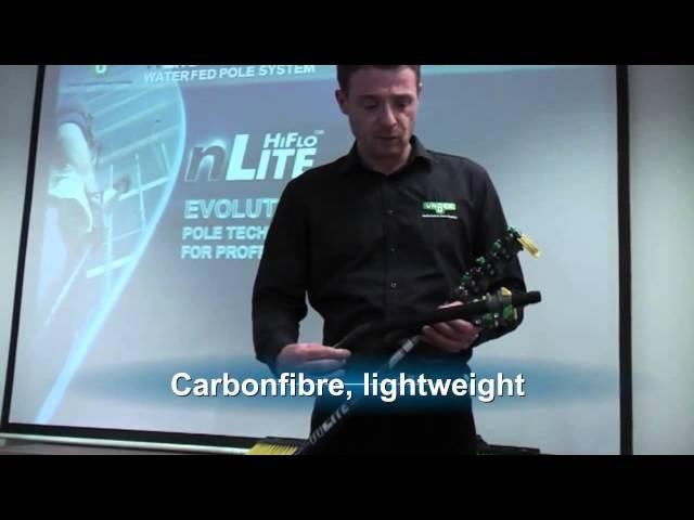 Unger HiFlo™ nLite- презентация системы мытья окон на высоте