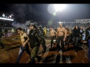 FIGHT FANS PARTIZAN BELGRADE IN THE SECTOR AT THE MATCH AGAINST CRVENA ZVEZDA 🇷🇸 13.12.2017