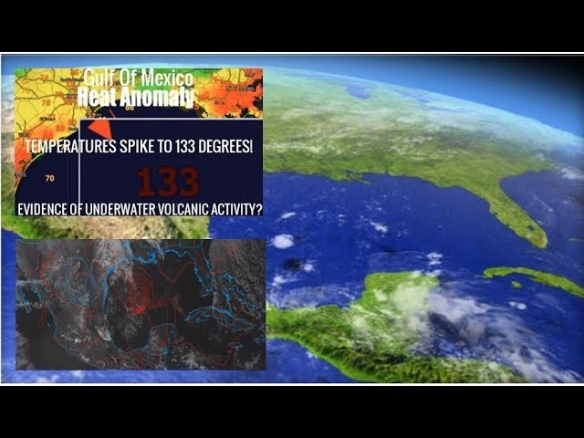 "Evidence Warned Growing That Gulf Of Mexico ""Supervolcano"" May Be Preparing to Erupt"