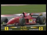 Schumacher vs. Alesi - Amazing Battle at N