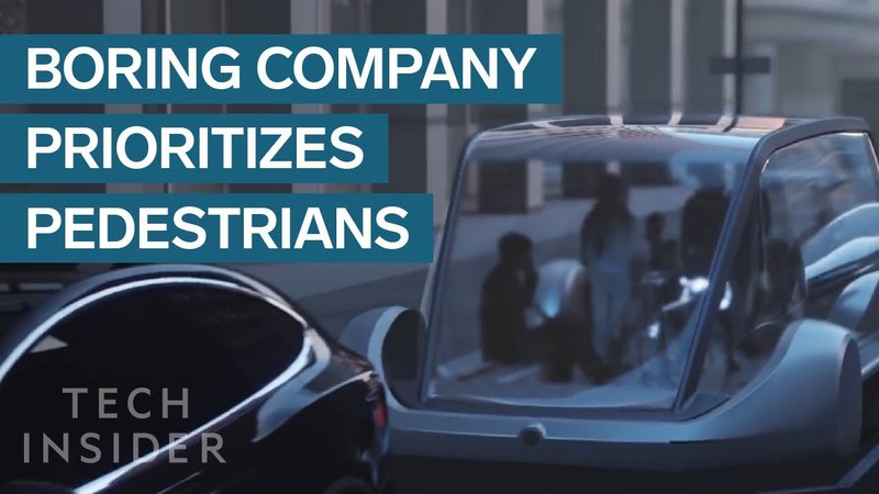 Elon Musk Boring Company To Prioritize Pedestrians Over Cars