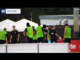 Неймар подрался на тренировке Барселоны