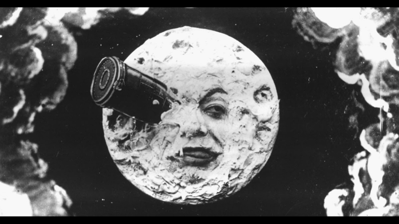 Путешествие на Луну / Le Voyage dans la Lune (1902) Жорж Мельес / Georges Méliès