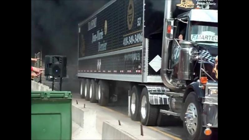 Truck wheelie (remi simard)