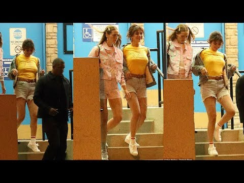 Selena Gomez goes braless while rocking skimpy Daisy Dukes