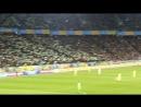 Хвиля на НСК Олімпійський на матчі Україна - Хорватія