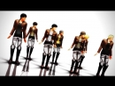 Attack on MMD 104th boys is so Classic