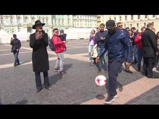Открытие парка Кубка Конфедераций в Петербурге