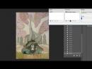 Esia рисует детей леса из сериала игра престолов