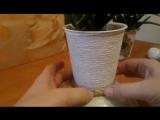 Поделки своими руками- Декор цветочных горшков