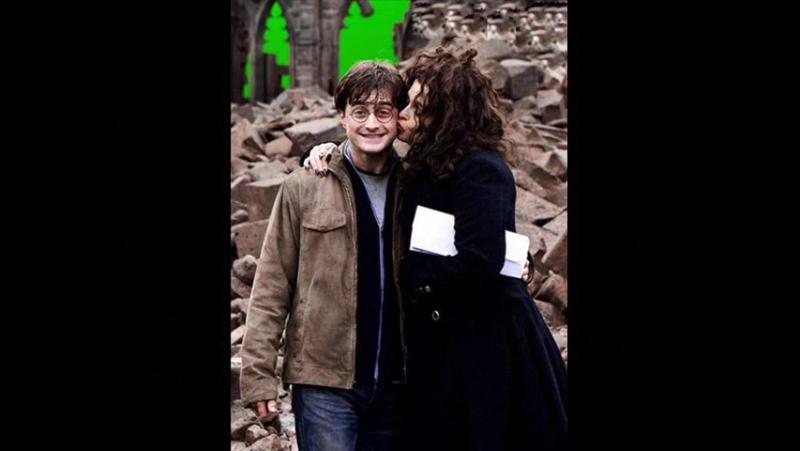 Гарри Поттер. Фотографии со съемок.