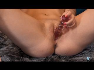 Avrora Solo Posing Dildo Masturbation