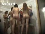 Скрытая камера в женской студенческой раздевалке