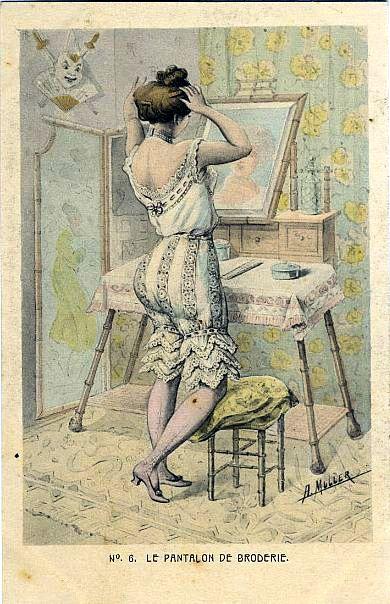 Фривольные картинки 19 век, для подарка мужчине