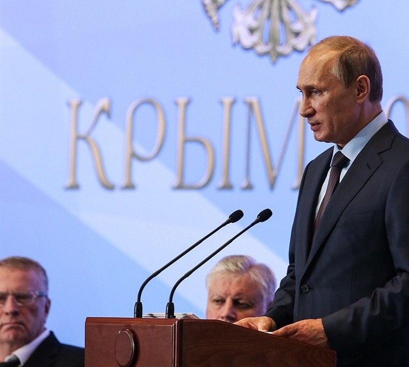 Владимир Путин посетит Крым перед выборами