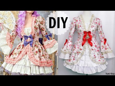 DIY European HistoricRococo Inspired Dress | Gorgeous Elegant Fancy Dress